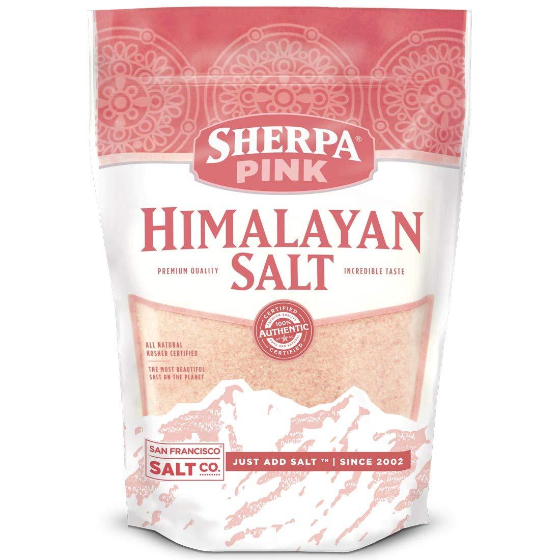 Sherpa Pink Gourmet Himalayan Salt - 2 lbs. Fine Grain by Sherpa Pink (Image #1)