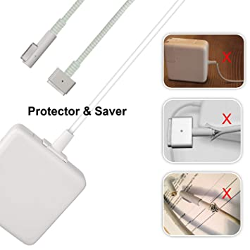 Amazon.com: Protector de cable de carga para Macbook ...