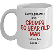 Amazon 60th Birthday Mug For Men
