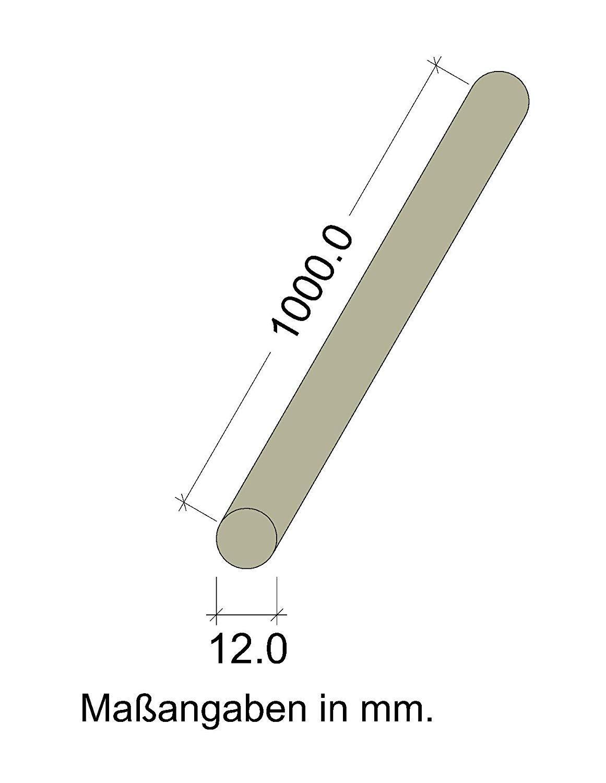 /Ø 6-65 mm GedoTec/® 10x Varillas redondas haya liso Tarugos de madera Varillas tarugo| Largo 1000 mm 35 x 1000 mm Hecho en Alemania