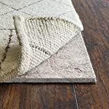 RUGPADUSA, 8'x10', Ultra Black 27 - 1/3' Thick (FELT + RUBBER) Non-Slip Rug Pad, Available in 3 thicknesses, Adds Plush Cushion and Prevents Slipping, Safe for Hardwood and All Surfaces