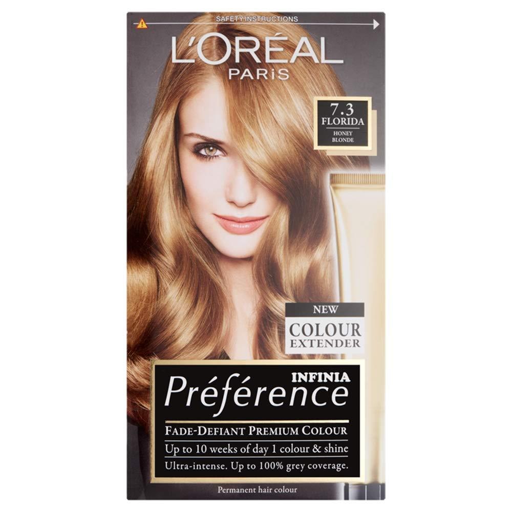 Loreal Paris Recital Preference Hair Colour Florida Honey Blonde