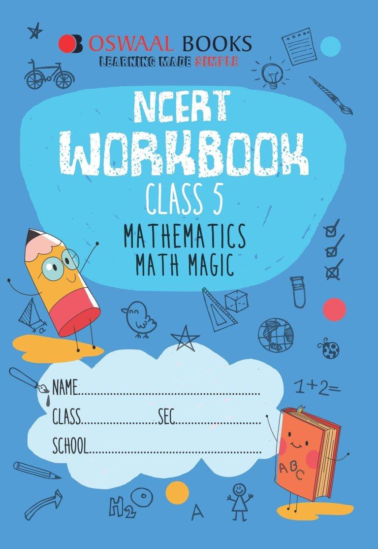 Oswaal NCERT Workbook Class 5 Mathematics Math Magic: Amazon.in ...