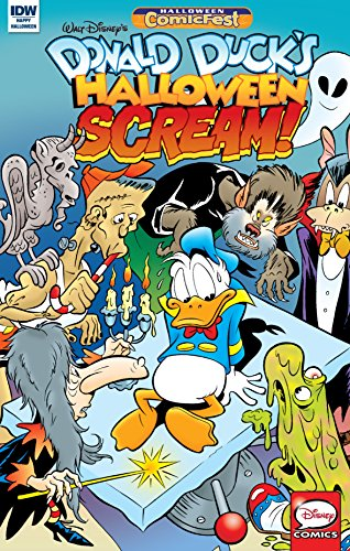 (Donald Duck's Halloween Scream #2 (Disney)