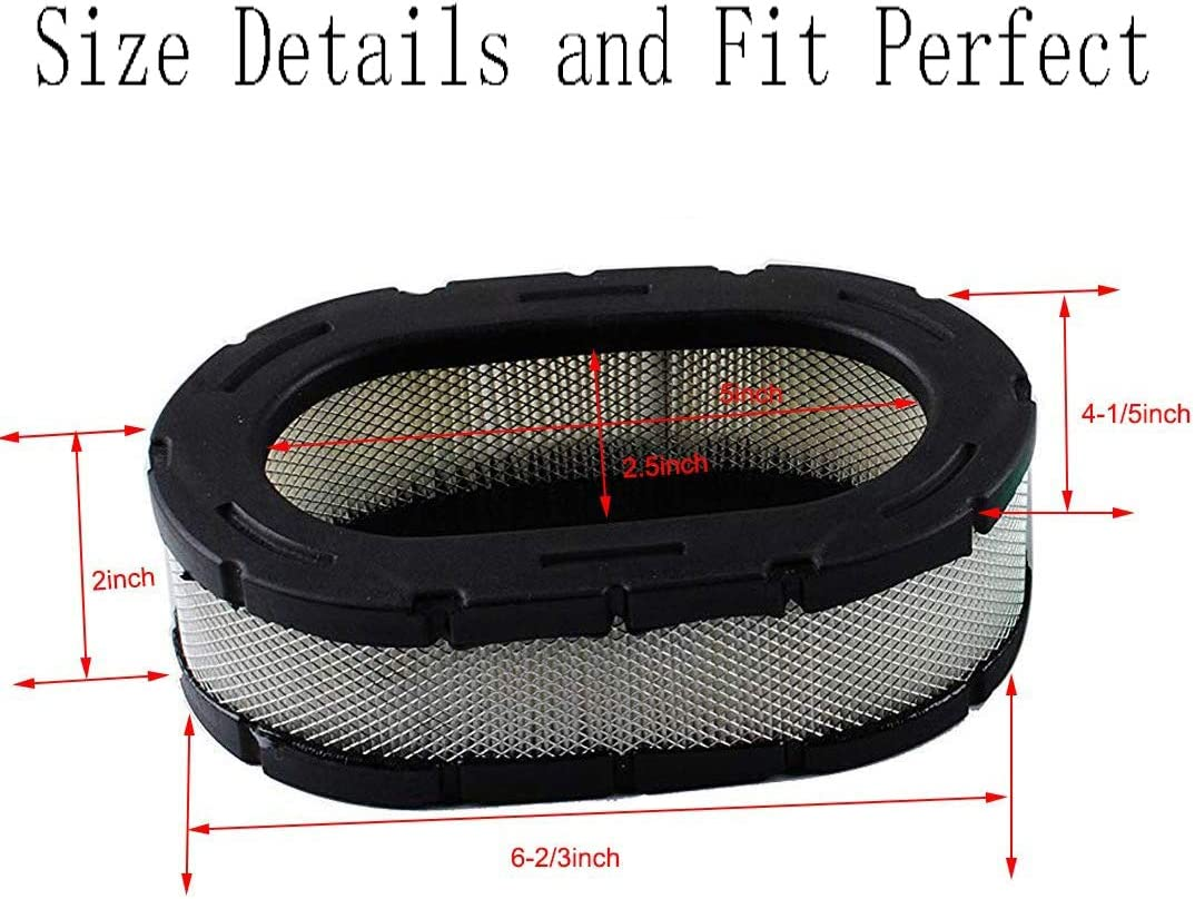 Lawn Mower Parts & Accessories 3208309S Air Filter for Kohler ...