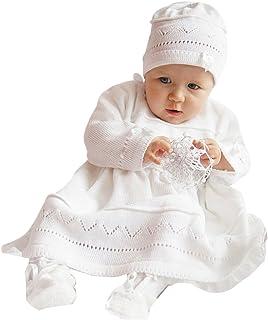 deine-Brautmode -  Abito da battesimo  - Vestito - Bebè femminuccia