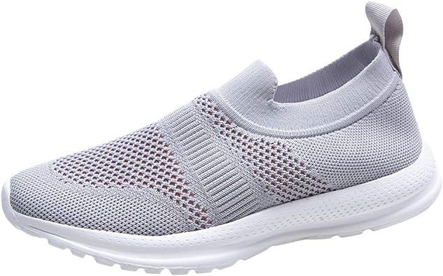 YWLINK Zapatillas De Mujer Zapatos Casuales Antideslizantes De Suela Suave De Malla Transpirable Talla Grande Zapatos CóModos para Correr para Estudiantes Calzado Deportivo Al Aire Libre: Amazon.es: Zapatos y complementos