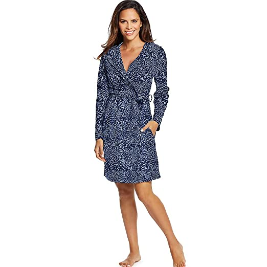0c05a963ea Maidenform Women s Fleece Robe at Amazon Women s Clothing store