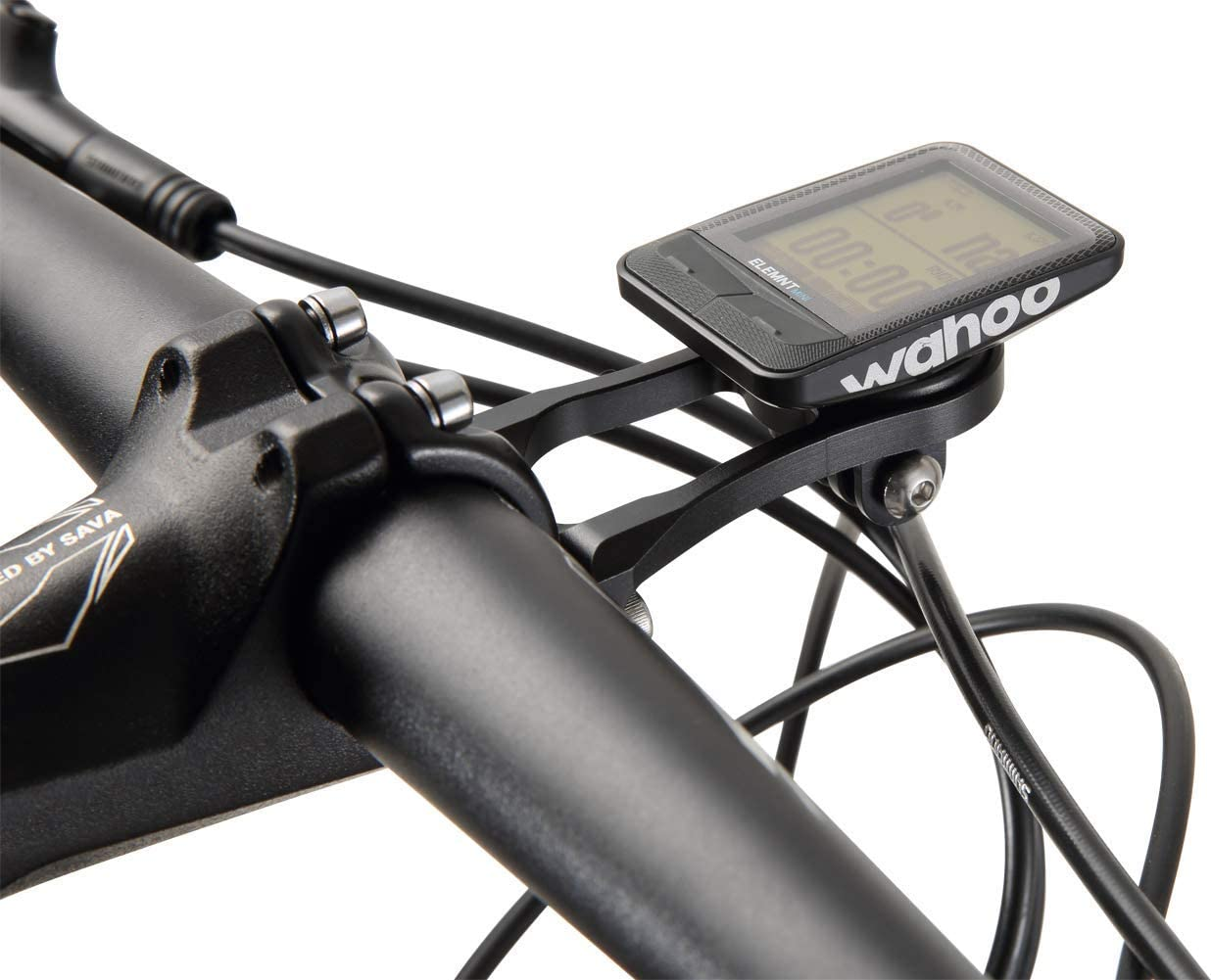 Dymoece Out Front Combo Extended Mount for Wahoo Elemnt,Bicycle Mount for Wahoo Elemnt Bolt,Elemnt Mini,Gopro Interface Sports Action Camera and Bike Lights