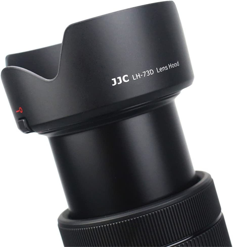 JJC 2pcs Lens Contacts Protector Cover Cap /& Dedicated Lens Hood EW-73D Replacement for Canon 18-135mm F3.5-5.6 IS USM Lens on Canon EOS 80D 77D 7DM2 Fits Canon 18-135mm USM Only 7D Mark II Camera