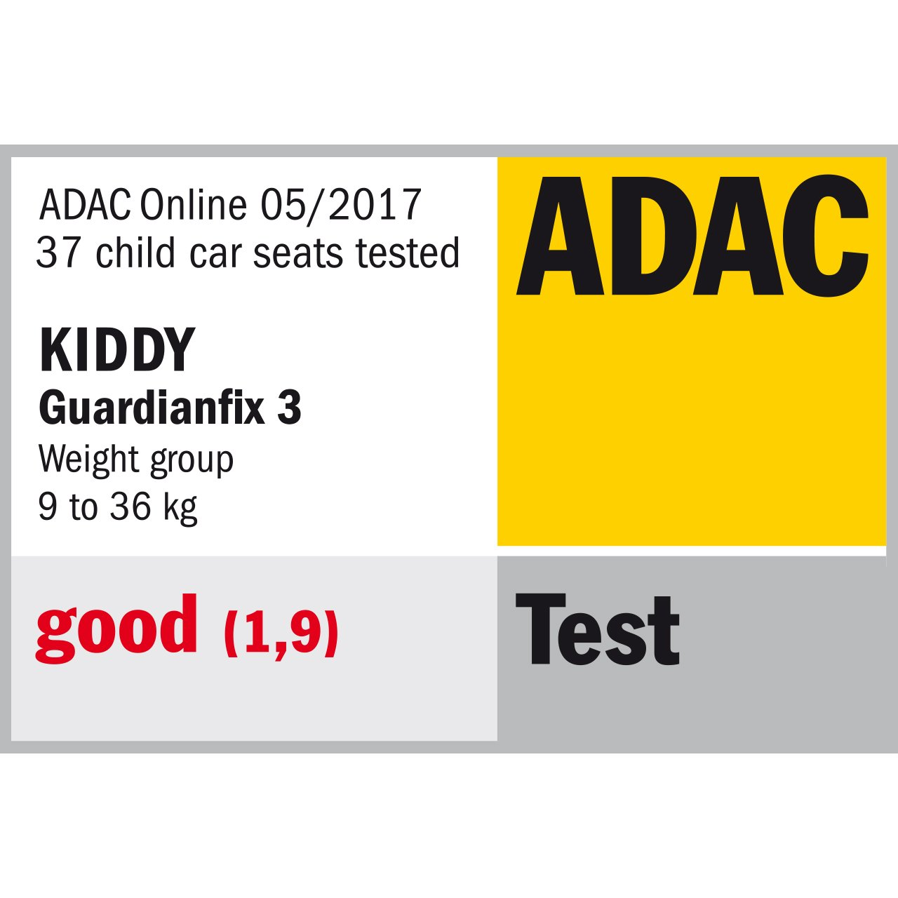 kiddy 41553GF122 Guardianfix 3 gr/ün