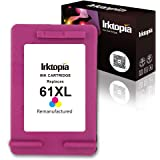 Inktopia Remanufactured Replacement for HP 61XL 61 XL Ink Cartridge, 1 Tricolor, for HP Envy 4500 4502 5530 5534 for HP…
