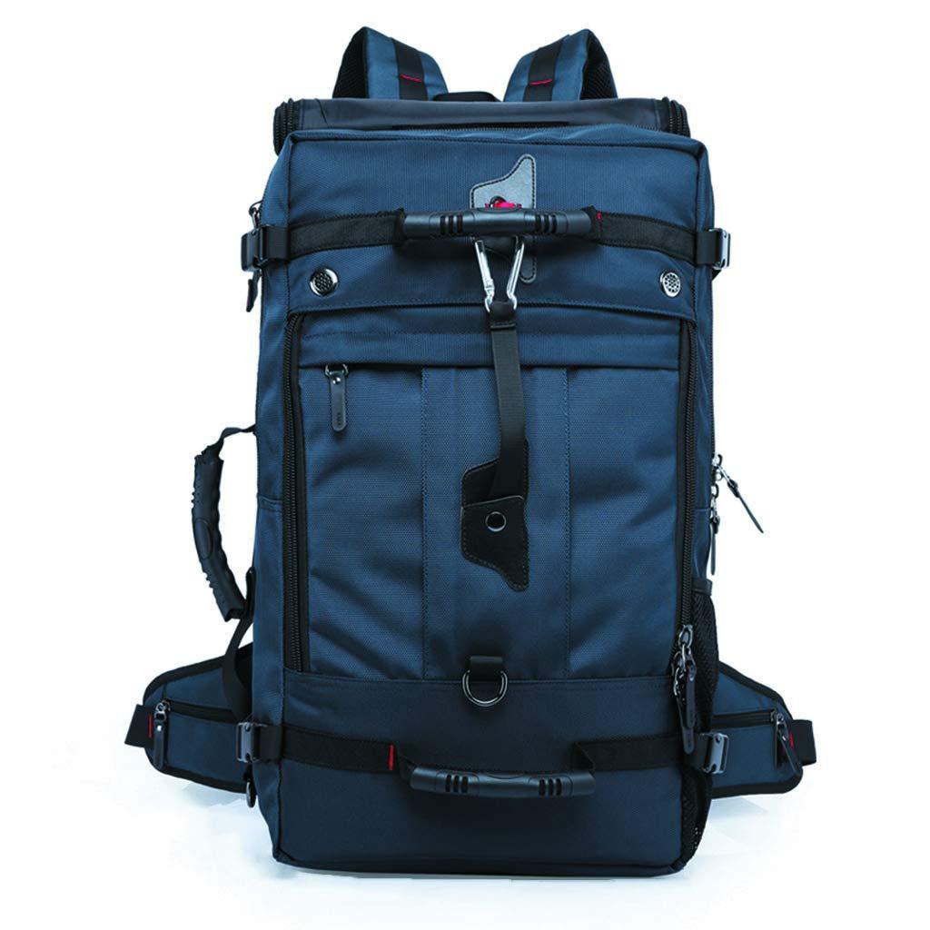 XINGZHE アウトドアスポーツ登山バッグ大容量ライトトラベルバッグ多機能バックパック大容量バッグ50L アウトドア (Color : C) B07TB5GW2J C