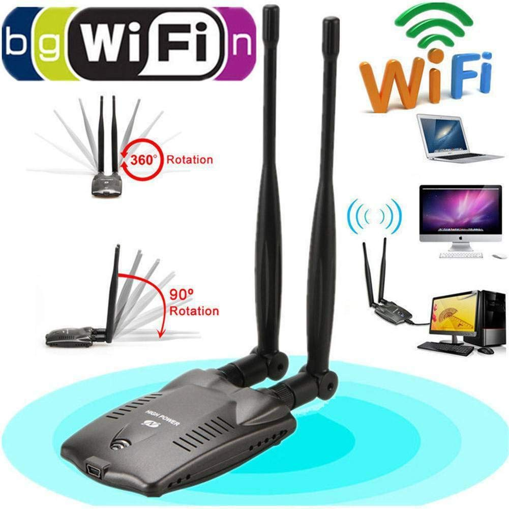 Wi-Fi Password Cracking Decoder Free Wireless WiFi USB Adapter RS