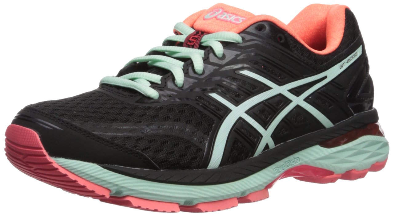ASICS Women's GT-2000 5 Running Shoe B01N3XPJXL 11 D US|Black/Bay/Diva Pink