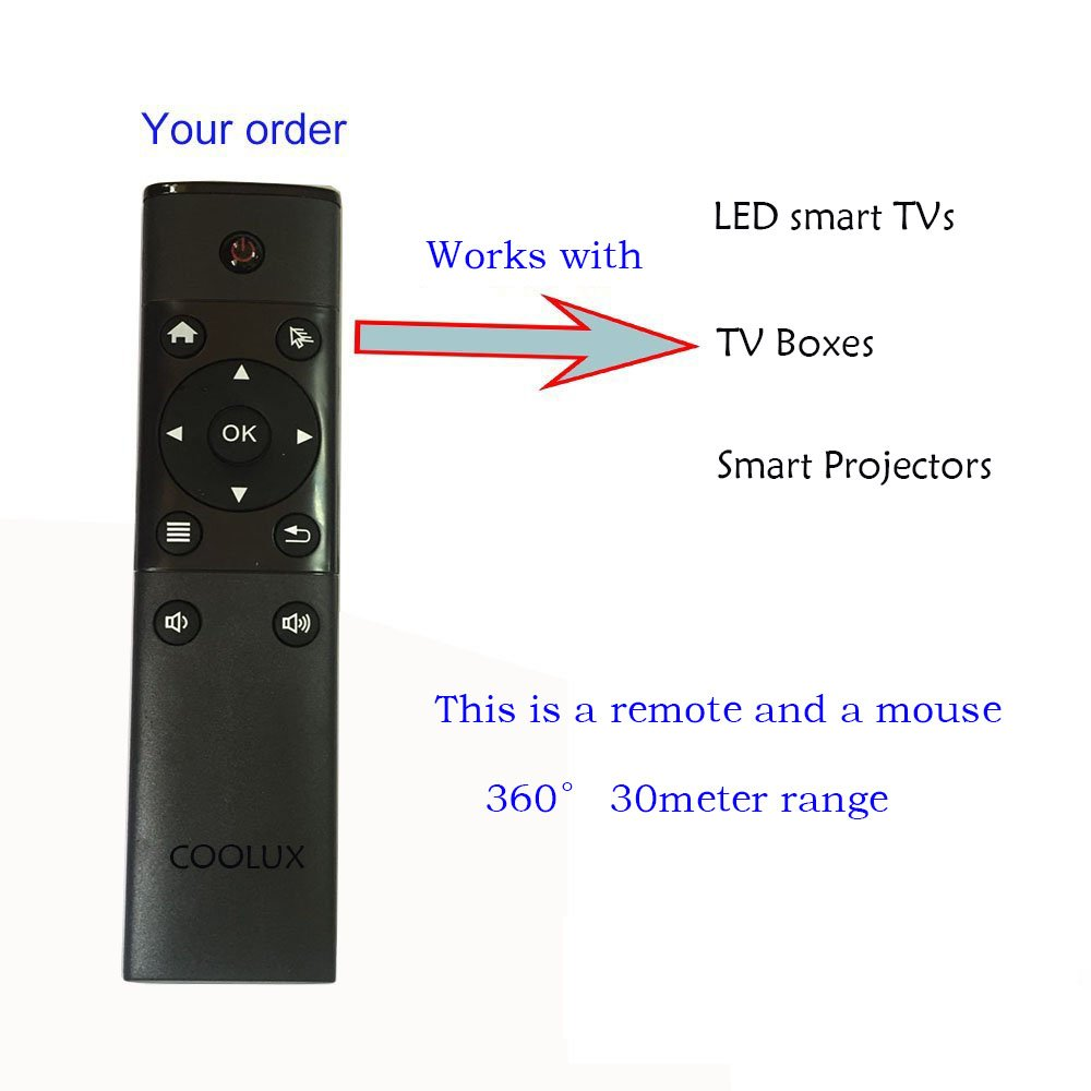 New Universal Remote for Samsung TV/VCR/DVD/STB … (2.4g USB Type) by Coolux (Image #4)