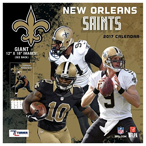 New Orleans Saints 2017 Calendar - New Orleans Saints Calendar