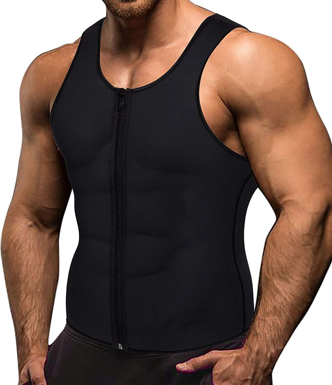 Sports Men/'s Clothing Running Fitness Men Waist Vest for Weightloss Hot T8X9 1X