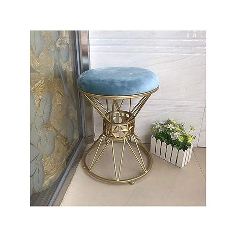 Fabulous Amazon Com Qiqi Life Light Luxury Velvet Boudoir Stool Frankydiablos Diy Chair Ideas Frankydiabloscom