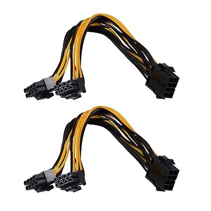 vanyda PCIe 8 pin (6 + 2 pines) Cable adaptador de ...