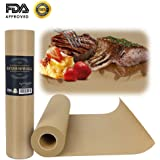 Brown Butcher Kraft Paper Roll,Food Wrapping Paper for Beef Briskets - All Natural FDA Approved Food Grade BBQ Meat Smoking Paper - Unbleached Unwaxed Uncoated Sheet