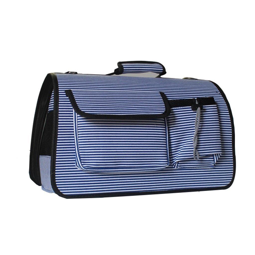 M-402026cm Pet Bag Dog Backpack Cat Bag Dog Carrying Bag Travel Bag Cat Cage Supplies Dog Bag Cat Bag (Size   M-40  20  26cm)