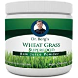 Wheat Grass Juice Powder - Raw & Ultra-Concentrated Nutrients - Rich in Vitamins, Chlorophyll, Trace Minerals & Amino Acids - 60 Servings - Gluten Free - Non-GMO - 5.3 oz (Solo Pack)