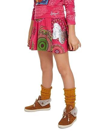 Desigual Skirt Galactic Falda para Niñas: Amazon.es: Ropa y accesorios