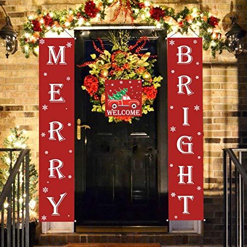 Amazon.com: Cartel navideño con texto en inglés