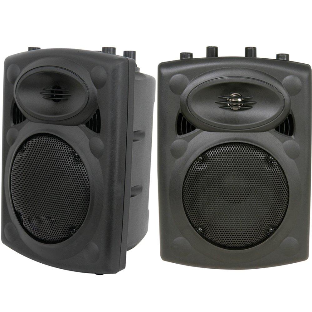 Coppia di - 400 Watt 30,48 cm con altoparlante passivo - antiurto 8 Ohm-discoteca Speakon Cablefinder 1447x2