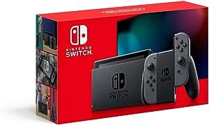 Console New Nintendo Switch - Cinza (versão nacional)