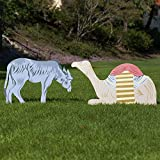 Outdoor Nativity Store Outdoor Nativity Set Add-on - Donkey and Camel (Large, Color)