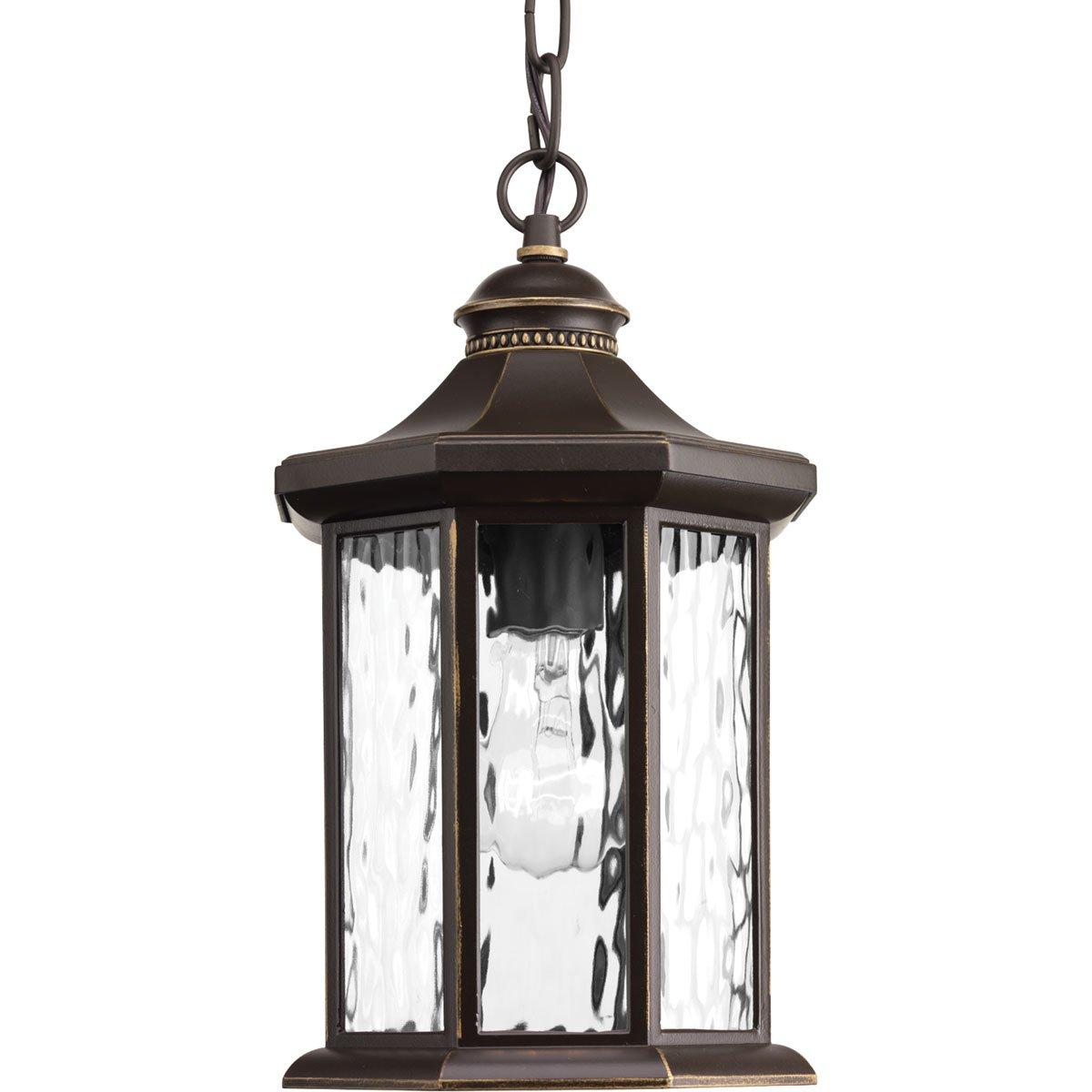 Progress Lighting P6529-20 Traditional/Classic 1-100W Med Hanging Lantern, Antique Bronze by Progress Lighting