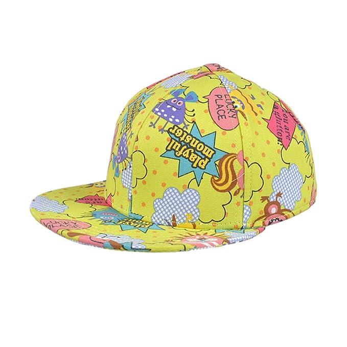 Kenmont Kids  Girls Boys Youth Flat Bill Snapback Hat - Hip Hop Baseball Cap  Outdoor 0cb7ce49f03