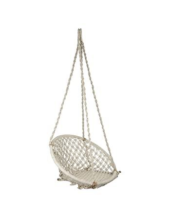 Pantheer Marrketing White Round Home Swing