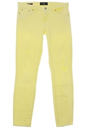 LTB Jeans - Jeans - Slim - Uni - Femme - Jaune - W28  Amazon.fr ... 806db20b5bd