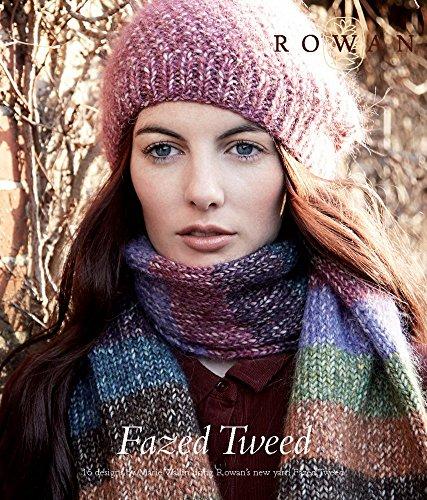 Rowan Fazed Tweed - Knitting Pattern Book, Marie Wallin