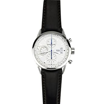 5138d618bc4 Raymond Weil Freelancer Automatic Chronograph Steel Mens Watch Date 7730-STC -65021  Amazon.co.uk  Watches