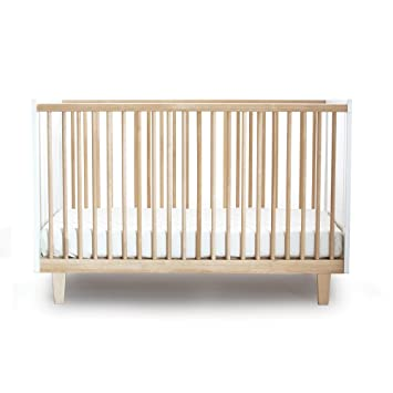 Preferred Amazon.com : Oeuf Rhea Crib, Birch/White : Convertible Cribs : Baby OL61