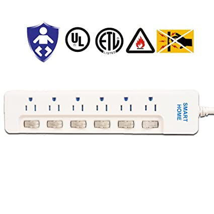 Review Power Strip Surge Protector