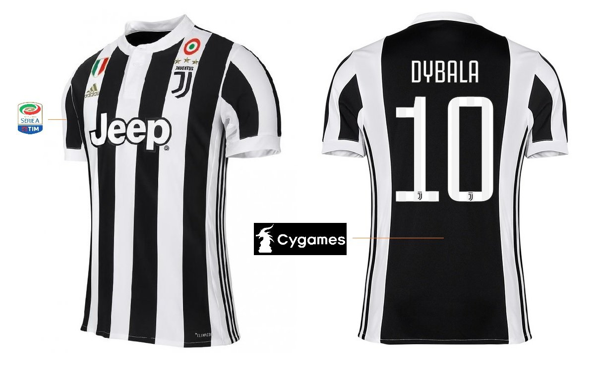 069c5e87 Jersey home Coppa men's Juventus Turin 2017/2018/Scudetto Dybala 10:  Amazon.co.uk: Sports & Outdoors