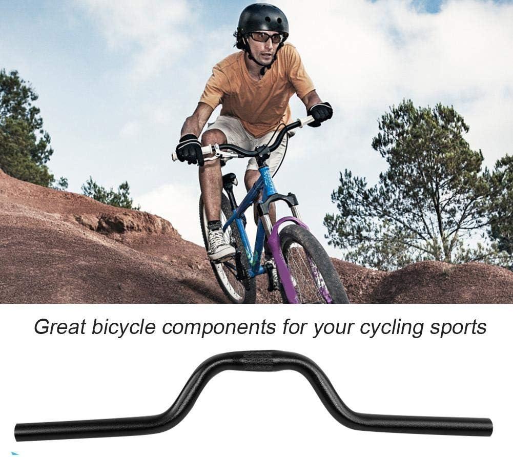 aleaci/ón de Aluminio Bicicleta de monta/ña Barra elevadora Ciclismo Deportes Barra elevadora Componentes 25.4 mm /× 520 mm Keenso Manillar de Bicicleta
