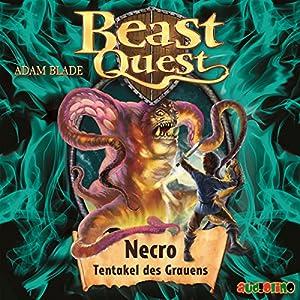 Necro, Tentakel des Grauens (Beast Quest 19) Hörbuch