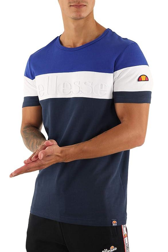 Ellesse Hombre Camiseta Timavo, Azul: Amazon.es: Ropa y accesorios