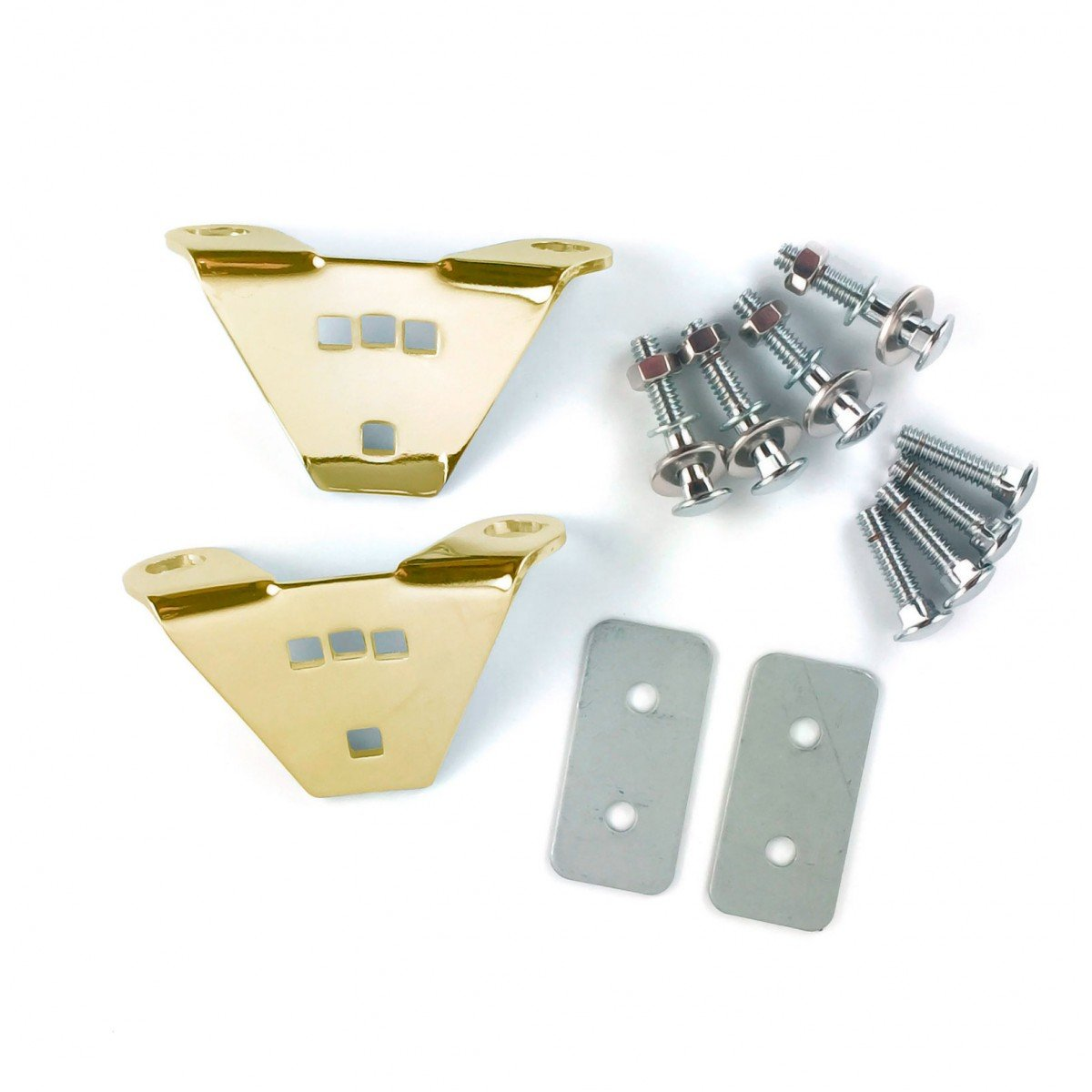 Latin Percussion LP912B Double Conga Mounting Brackets, Set of 2 - Gold