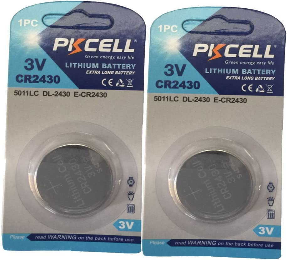 Lithium 3v Batteries CR2430 40 Genuine Loopacell ECR2430 Fresh Dates
