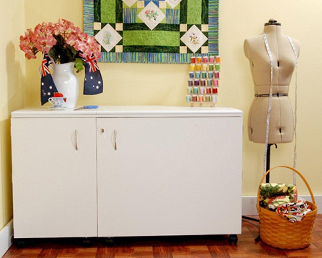 Kangaroo Kabinets K8611 Aussie Sewing Cabinet White Ash
