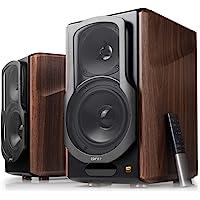 Edifier S2000MKIII Powered Bluetooth Bookshelf 2.0 Speakers - Near-Field Active Tri-Amped 130w Studio Monitor Speakers…