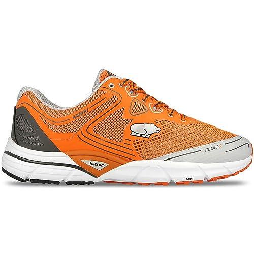 Karhu - Zapatillas de Running de Material Sintético para Hombre Naranja Exuberance/DDGrey/Fade: Amazon.es: Deportes y aire libre