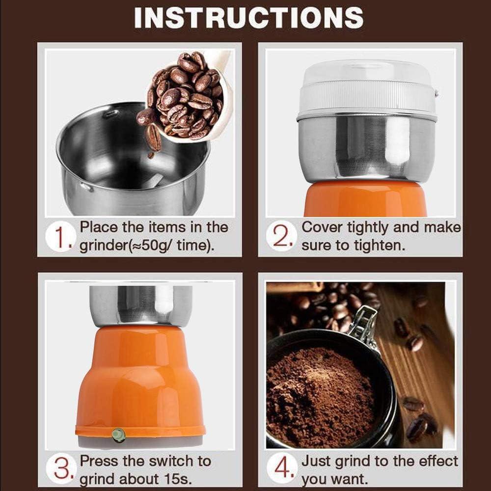 Household Electric coffee grinder DFGHA Multifunction Electric ...